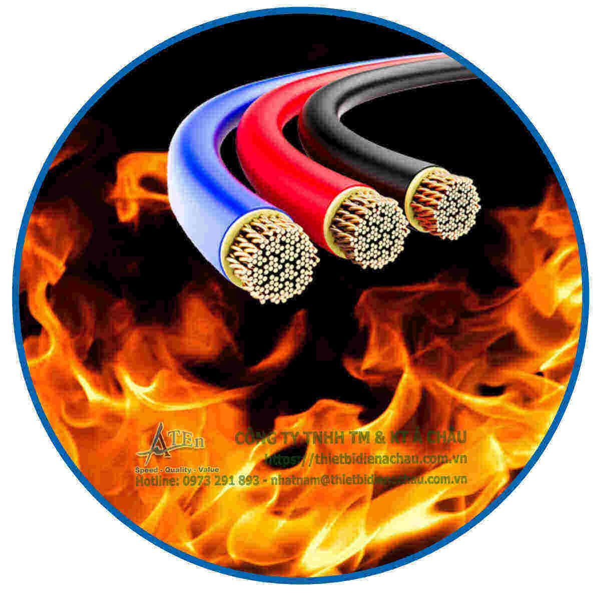 Dây điện chống cháy