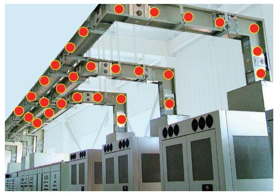busway temperaturer sensor application