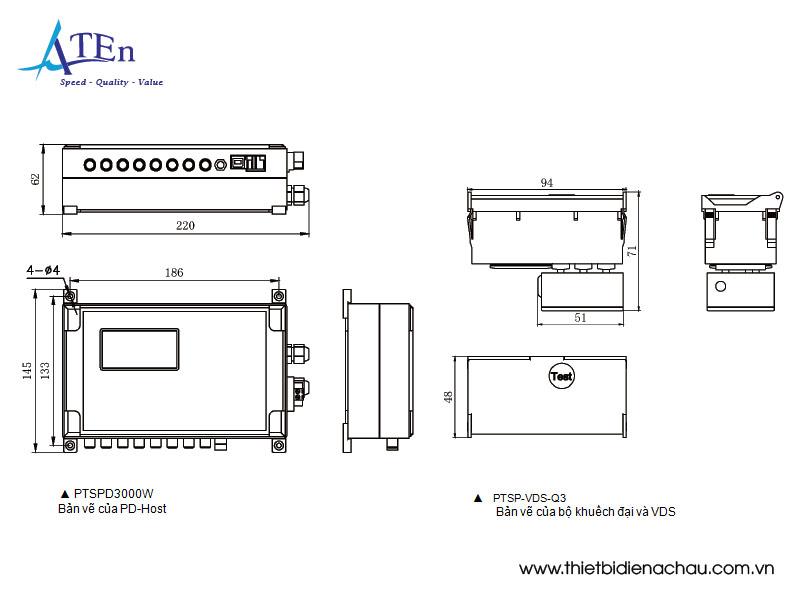 bản vẽ hệ thống giám sát trực tuyến phóng điện cục bộ
